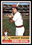 1976 Topps #575  Dwight Evans  Front Thumbnail