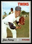 1970 Topps #620  Jim Perry  Front Thumbnail