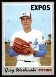1970 Topps #607  Gary Waslewski  Front Thumbnail