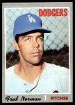 1970 Topps #427  Fred Norman  Front Thumbnail