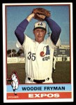 1976 Topps #467  Woodie Fryman  Front Thumbnail