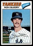 1977 Topps #656  Ron Guidry  Front Thumbnail