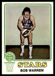 1973 Topps #196  Bob Warren  Front Thumbnail