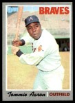 1970 Topps #278  Tommie Aaron  Front Thumbnail
