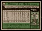 1979 Topps #694  Burt Hooton  Back Thumbnail