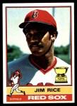 1976 Topps #340  Jim Rice  Front Thumbnail