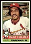 1976 Topps #499  Mario Guerrero  Front Thumbnail