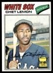 1977 Topps #58  Chet Lemon  Front Thumbnail