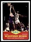 1973 Topps #202   ABA West Semi-Finals Front Thumbnail