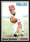 1970 Topps #6  Grant Jackson  Front Thumbnail