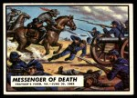 1962 Topps Civil War News #26   Messenger of Death Front Thumbnail
