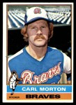 1976 Topps #328  Carl Morton  Front Thumbnail