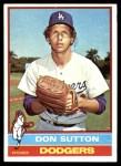 1976 Topps #530  Don Sutton  Front Thumbnail