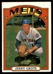 1972 Topps #655  Jerry Grote  Front Thumbnail
