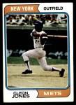 1974 Topps #245  Cleon Jones  Front Thumbnail