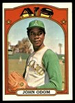 1972 Topps #557  Blue Moon Odom  Front Thumbnail