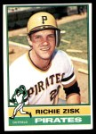 1976 Topps #12  Richie Zisk  Front Thumbnail