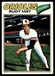 1977 Topps #56  Rudy May  Front Thumbnail