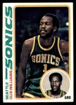 1978 Topps #39  Gus Williams  Front Thumbnail