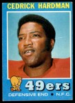 1971 Topps #149  Cedrick Hardman  Front Thumbnail