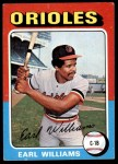 1975 Topps #97  Earl Williams  Front Thumbnail