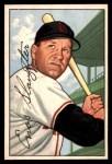 1952 Bowman #232  Enos Slaughter  Front Thumbnail