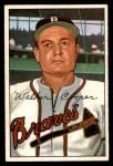 1952 Bowman #208  Walker Cooper  Front Thumbnail