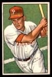 1952 Bowman #76  Del Ennis  Front Thumbnail