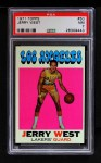 1971 Topps #50  Jerry West   Front Thumbnail