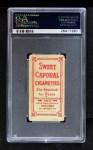 1909 T206 RED Ty Cobb  Back Thumbnail
