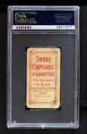 1909 T206 OFF Ty Cobb  Back Thumbnail