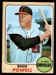 1968 Topps #381  Boog Powell  Front Thumbnail