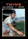 1971 Topps #638  Stan Williams  Front Thumbnail