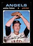 1971 Topps #631  Eddie Fisher  Front Thumbnail