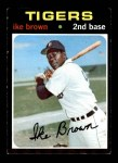 1971 Topps #669  Ike Brown  Front Thumbnail