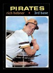 1971 Topps #212  Richie Hebner  Front Thumbnail