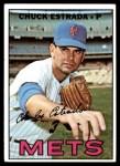 1967 Topps #537  Chuck Estrada  Front Thumbnail