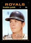 1971 Topps #626  Fred Patek  Front Thumbnail