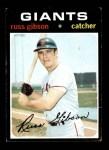 1971 Topps #738  Russ Gibson  Front Thumbnail