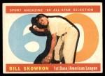 1960 Topps #553   -  Bill Skowron All-Star Front Thumbnail