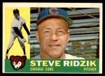 1960 Topps #489  Steve Ridzik  Front Thumbnail