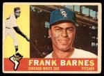 1960 Topps #538  Frank Barnes  Front Thumbnail