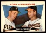 1960 Topps #115   -  Hoyt Wilhelm / Roy Face Fork & Knuckler Front Thumbnail