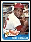 1965 Topps #72  Tony Gonzalez  Front Thumbnail