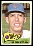 1965 Topps #114  Jim Hickman  Front Thumbnail