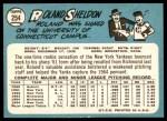 1965 Topps #254  Roland Sheldon  Back Thumbnail