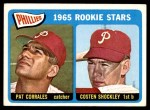 1965 Topps #107   -  Pat Corrales / Costen Shockley Phillies Rookies Front Thumbnail
