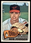 1965 Topps #363  Bob Johnson  Front Thumbnail