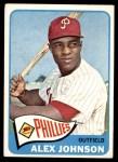 1965 Topps #352  Alex Johnson  Front Thumbnail