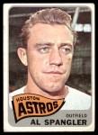 1965 Topps #164  Al Spangler  Front Thumbnail